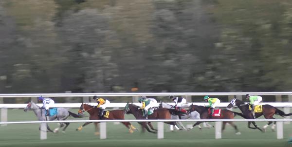 Horse racing Beacon Rock