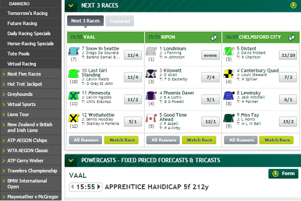 Paddy Power Horse Races