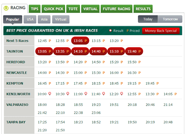 Paddy power horse racing betting rules holdem best horse race betting apps