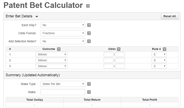 Stan james betting calculator for horse can you bet on sumo in japan