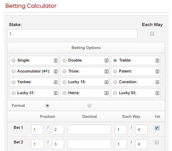 canadian bet calculator