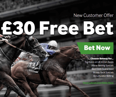 Betway Horse Racing Bet